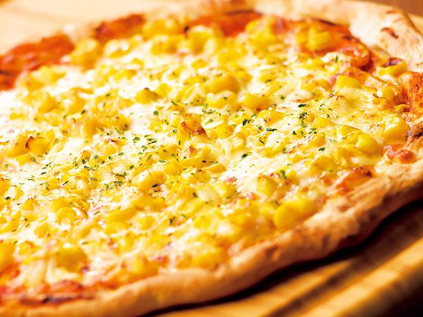 ガストたっぷりマヨコーンピザ