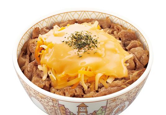 すき家とろ〜り3種のチーズ牛丼