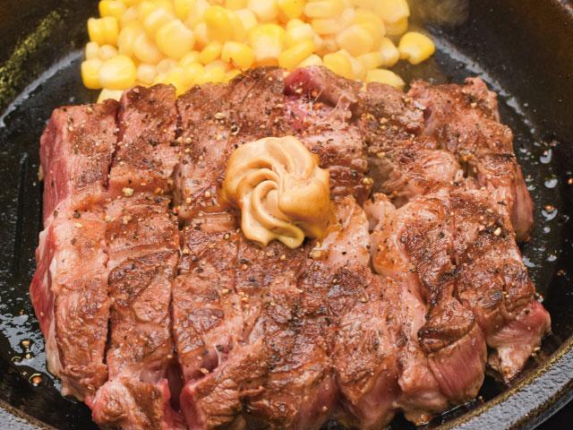 いきなりステーキCABワイルドステーキ