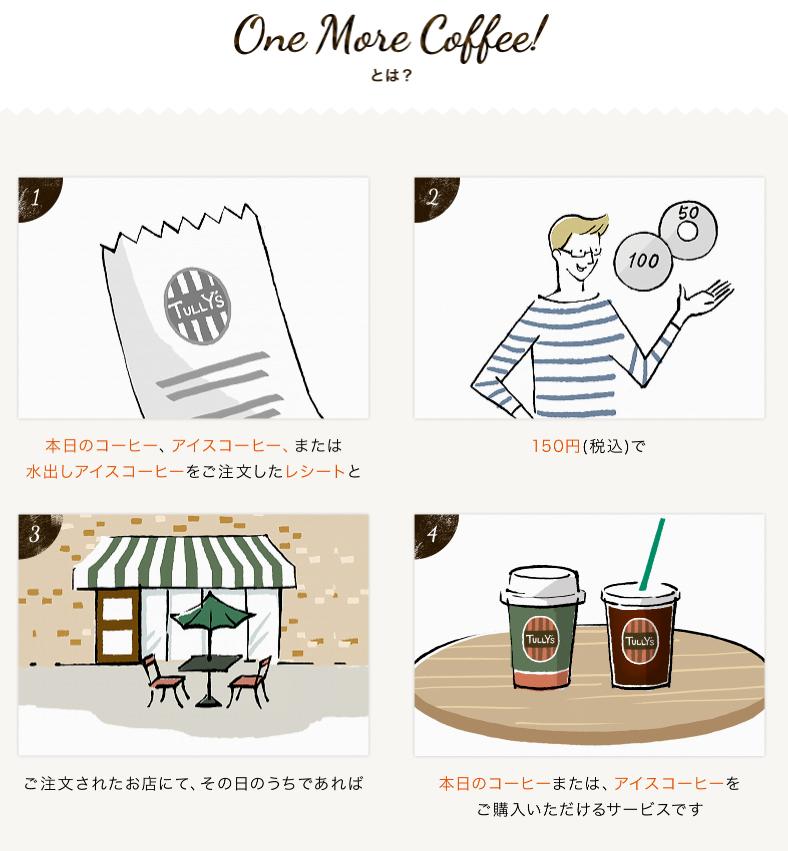 タリーズONE MORE COFFEE詳細