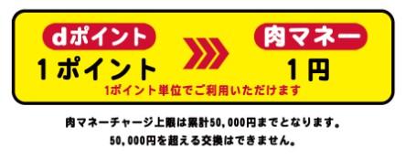 いきなりステーキdポイント=肉マネー