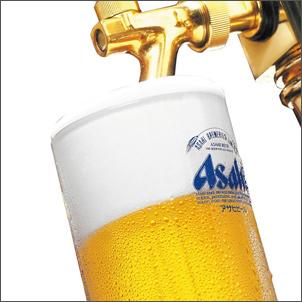 生ビール(中)アサヒスーパードライ 通常460円